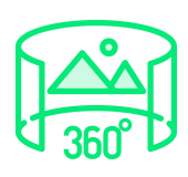 360 laipsnių matymas