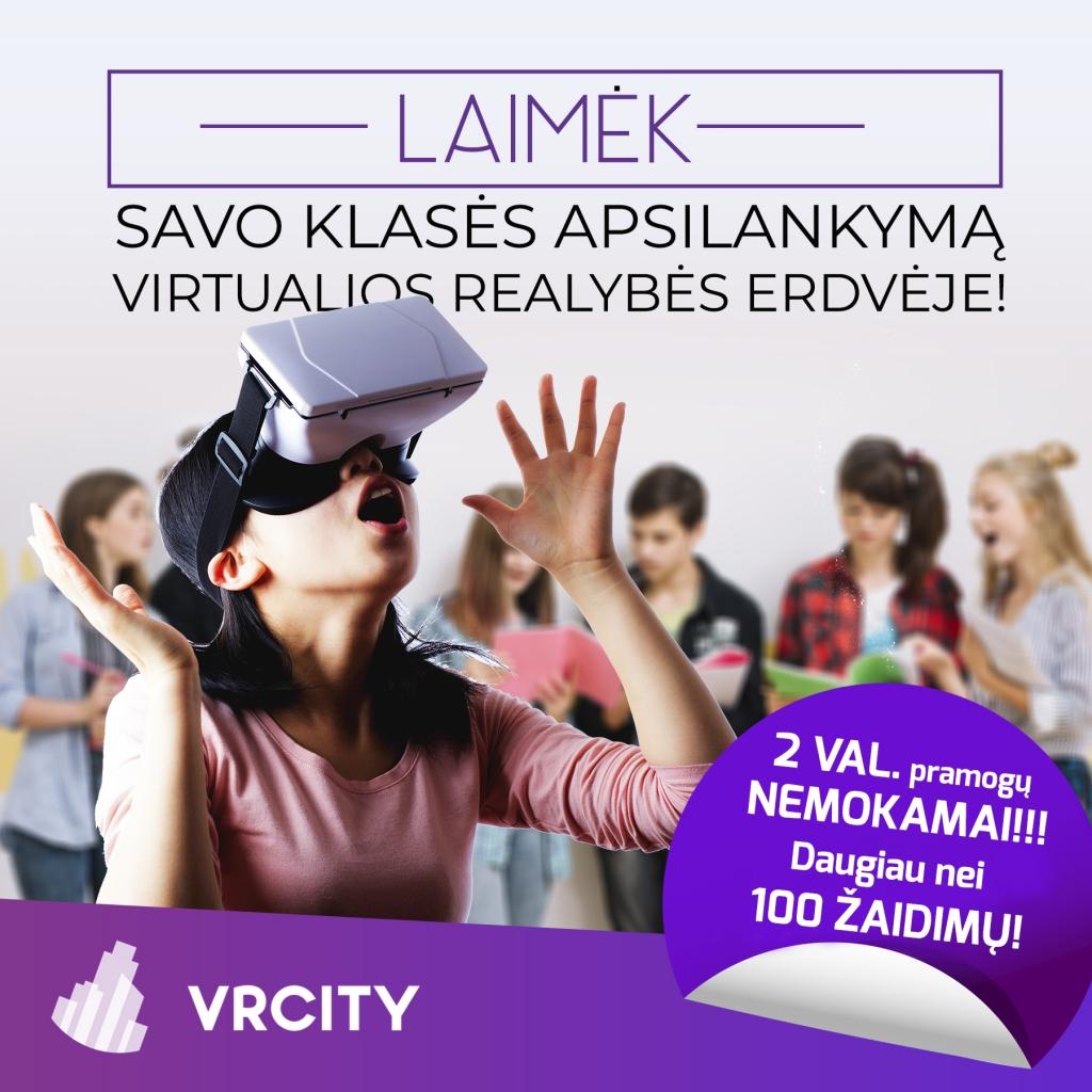 Virtualiausios klases rinkimai | VR CITY | Virtualios pramogos | Virtualus žaidimai | Vilnius
